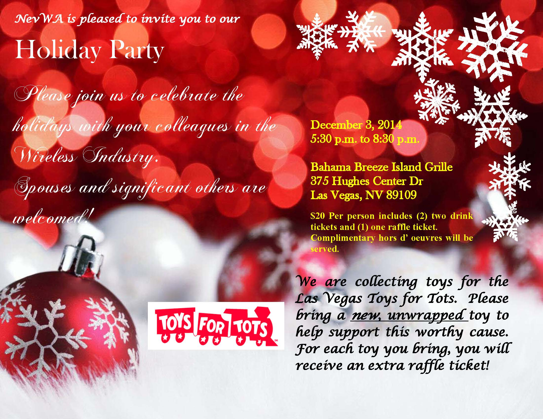 Holiday Party Invite 2014