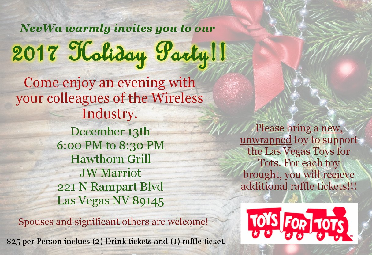 2017 NevWA Holiday Party